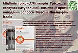 Міглиорін комплекс вітамінів проти випадіння волосся Швейцарія, фото 3