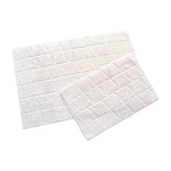 Набор ковриков Irya - Kinsey ekru молочный 60*90+40*60 (2000022200448)