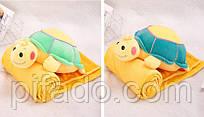 Детская мягкая игрушка с пледом. Модель Y8B5