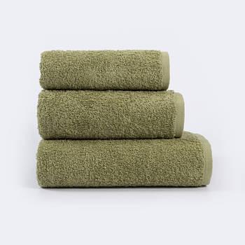 Полотенце Iris Home Отель - Green olive 70*140 440 г/м² (svt-2000022274272)