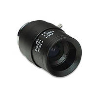 Вариофокальный объектив с изменяемым фокусом 2,8-12мм, диафрагма 1,4 ручного управления