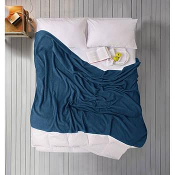 Простирадло Iris Home махрова - Mojalica blue 190*220 (svt-2000022274395)