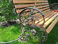 Пластиковые скамейки для сада