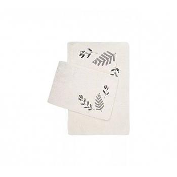 Набор ковриков Irya - Finola gri серый 60*90+40*60 (svt-2000022288460)