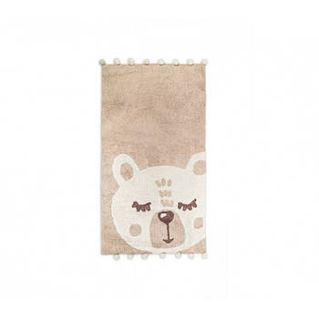 Килимок в дитячу кімнату Irya - Teddy krem кремовий 80*150 (svt-2000022288651)