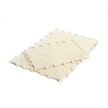 Набор ковриков Irya - Alya ekru молочный 60*90+40*60 (svt-2000022277730)