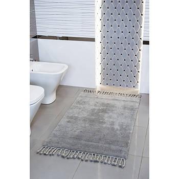 Набор ковриков Irya - Paloma a.gri светло-серый 60*90+40*60 (svt-2000022277747)
