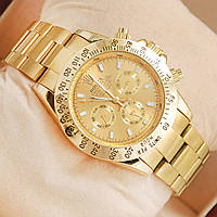 Механические мужские часы Rolex Daytona Gold, наручные часы, часы мужские, стильные часы для мужчин