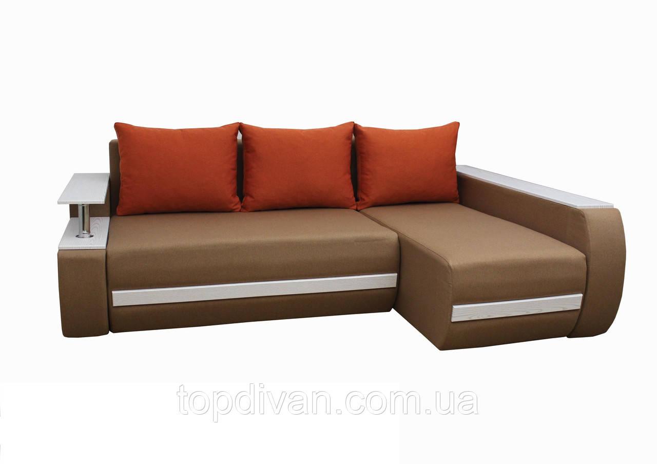 """Кутовий диван """"Гаспар"""" тканина 18 (категорія 1)"""