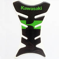 Наклейка на бак Kawasaki Green K, фото 1