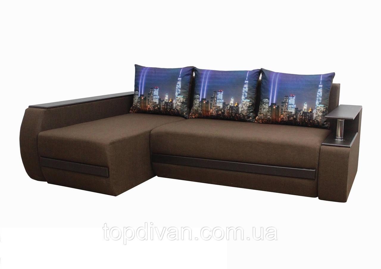 """Кутовий диван """"Гаспар"""" тканина 26 (категорія 1)"""