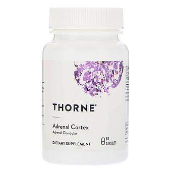 Комплекс для Підтримки Наднирників Адренал, Adrenal Cortex, Thorne Research, 60 капсул