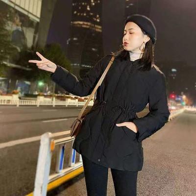 Курточка жіноча середньої довжини стьобаний