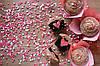 Шоколадные капкейки со спрятанным сердцем