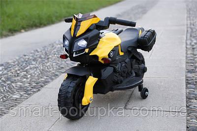 Їв-мобіль JC919 EVA YELLOW мотоцикл 6V4.5AH мотор 1*25W 90*42*58 /1/