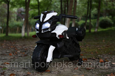 Їв-мобіль JC919 EVA WHITE мотоцикл 6V4.5AH мотор 1*25W 90*42*58 /1/