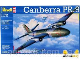 Cамолет 'Canberra PR.9 '  масштаб   1\72  Revell