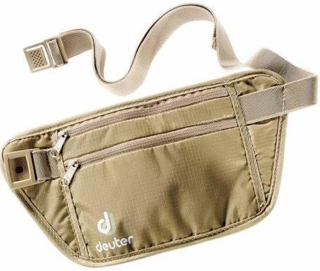 Удобная сумка на пояс Deuter Security Money Belt S 39124 6102 бежевый