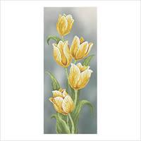 """Схема для вышивки бисером """"Желтые тюльпаны"""""""
