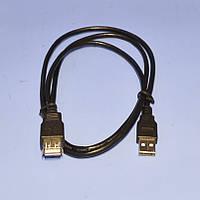 Удлинитель USB-A  V2.0 Cabletech Eco-Line D3.5mm 1.0м  KPO4013-1.0