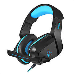 Навушники Vertux Shasta 7.1 Mini Jack 3.5мм Blue