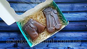 """Шоколадний набір """"Чоловічий"""" 100 грам в упаковці"""