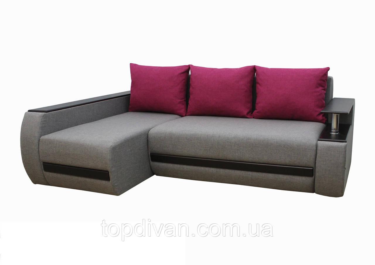 """Кутовий диван """"Гаспар"""" тканина 6"""