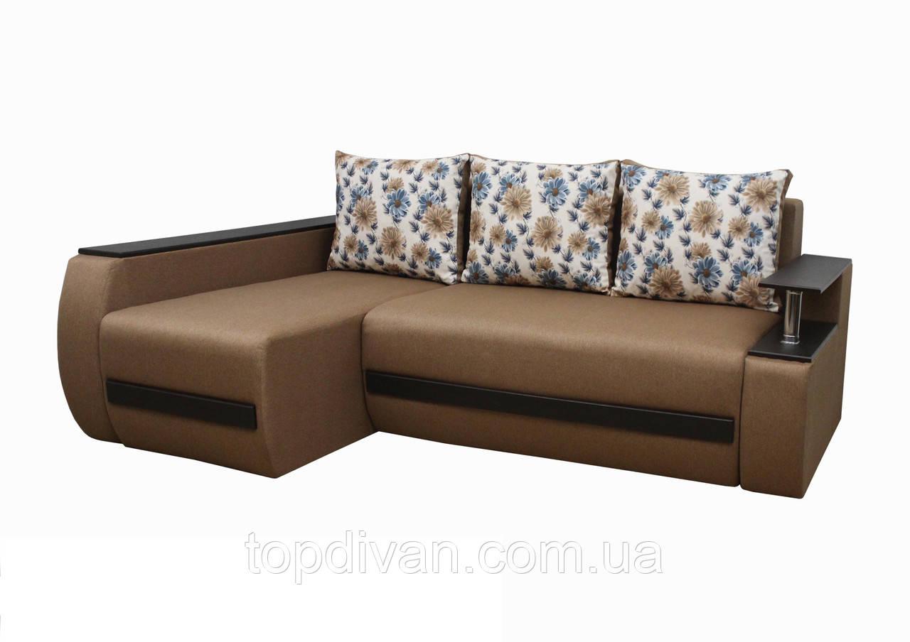 """Кутовий диван """"Гаспар"""" тканина 95"""