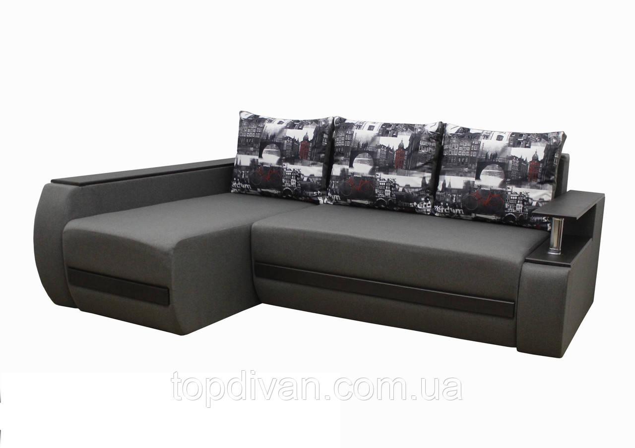 """Кутовий диван """"Гаспар"""" тканина 30"""