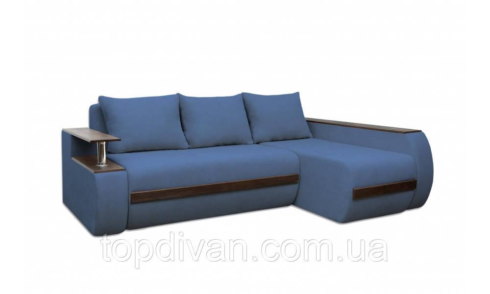 """Угловой диван """"Гаспаро Премиум"""". Ортопедический, независимый пружинный блок ( ткань 11)"""