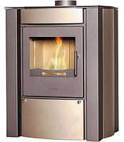 Отопительная печь-камин FLAMINGO AMOS кремовый металик