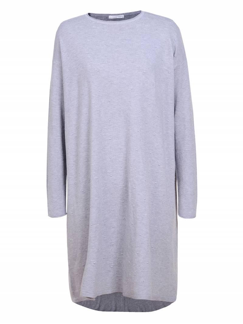 Женское трикотажное безразмерное прямое большое оверсайз платье