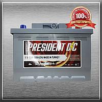Акумулятор PRESIDENT 6CT-62-1 62Ah/600A L+ (Президент) Aco Group Автомобільний АКБ Кислотний Туреччина ПДВ
