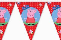 "Баннер для праздника  ""Свинка Пеппа"" 7266"
