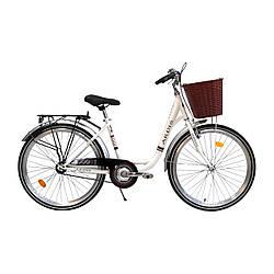 """Жіночий міський велосипед Ardis Lido CTB 26"""" 16"""" Білий"""