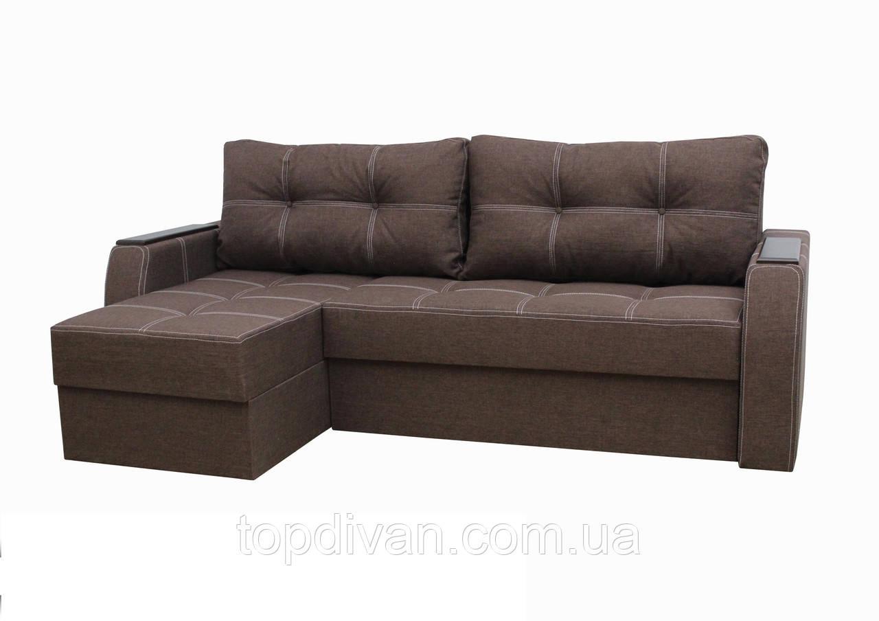 """Кутовий диван """"Ліон"""". (кут взаємозамінний). Люкс 12"""