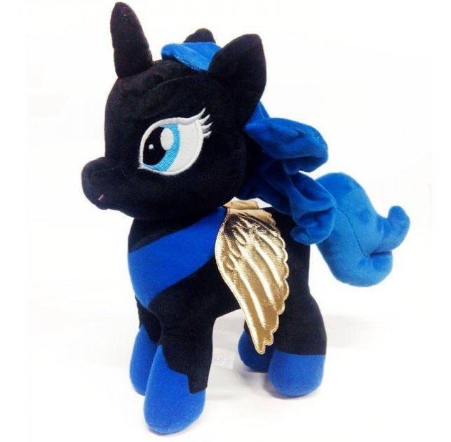 Мягкая игрушка пони Луна черная принцесса My Little Pony, 33 см