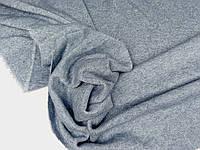 Джинсовий с люрексом. Тканина Ангора плотна, двухстороння, Альпака . меланж., фото 1