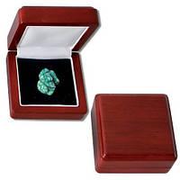 Деревянный футляр для минералов и ювелирных украшений 78Х78 мм - SAFE