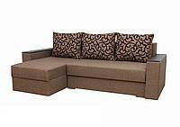 """Кутовий диван """"Ліон 2"""". (кут взаємозамінний) тканина 1, фото 1"""