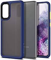 Чехол Spigen для Samsung Galaxy S20 - Ciel, Color Brick, Navy (ACS00802)