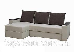 """Угловой диван """"Лион 2"""". (угол взаимозаменяемый)  ткань 8 Аласка"""