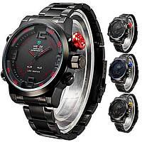 Многофункциональные мужские часы WEIDE Sport Watch, кварцевые часы, стильные часы для мужчин, часы наручные