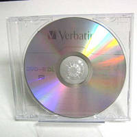 Диск Verbatim 8.5Gb - 8x    DVD+R   jewel   double layer