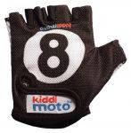 Перчатки детские Kiddi Moto бильярдный шар, чёрные, размер М на возраст 4-7 лет