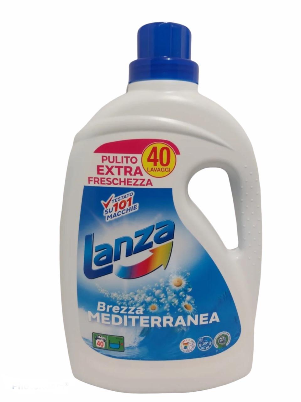Гель для прання универсальный1 Lanza Морський бриз, 2л Італія