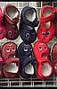 Детские тапочки красные зайки