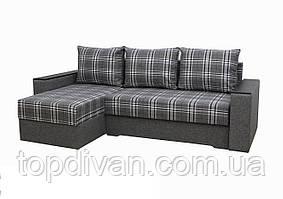 """Угловой диван """"Лион 2"""". (угол взаимозаменяемый)  ткань 5"""