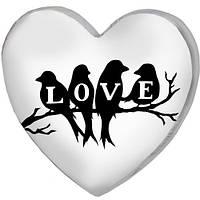 Подушка сердце 3D Любовь