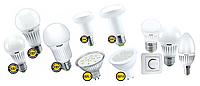 Замена традиционных ламп накаливания на LED лампы.